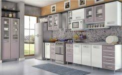 Alluring White Kitchen Cabinets With Granite Best Images About - Stainless steel kitchen cabinets ikea