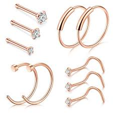 nose jewelry rings images D bella nose rings 22g nose pin studs 1 5mm 2mm 2 5mm fake nose jpg