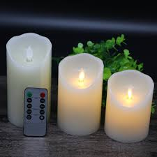 online buy wholesale flameless moving wick candles from china