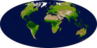 global map earth global enhanced vegetation index image of the day