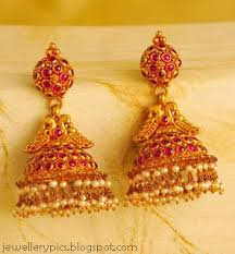 buttalu earrings beautiful designs of gold earrings jumka buttalu designs
