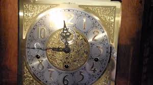 Ridgeway Grandfather Clock Ebay Howard Miller 610 403 Chain Driven Grandfather Clock With Beveled