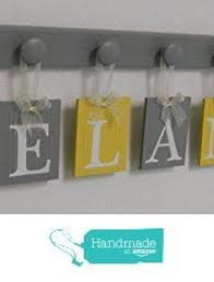 Yellow Gray Nursery Decor Yellow And Gray Nursery Wall Yellow Baby By Nelsonsgifts