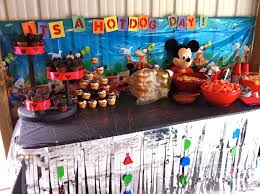 Mickey Mouse Table by Mickey Mouse Birthday Shauna Shares