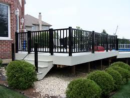 deck rail planters lowes fresh metal deck railing brackets 26079