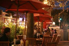 creating ambience in restaurant outdoor seating holiday led