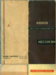 necchi bn manual de instrucciones máquina para coser
