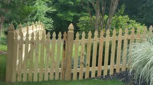 colonial gothic picket fence installers