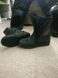 ladies leather motorcycle boots ladies leather waterproof motorcycle boots in runcorn cheshire