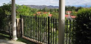 Front Yard Metal Fences - unique design wrought iron fences easy wrought iron fence crafts