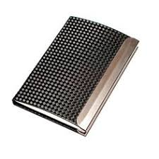 Modern Business Card Case Cigarette Case Silver Plated Case Vintage Cigarette Case Art