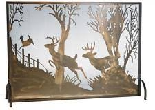 Country Fireplace Screens by Copper Country Fireplace Screens U0026 Doors Ebay