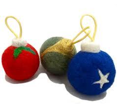cat toy felting kit diy catnip toy christmas tree ornament kit