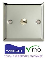 Remote Controlled Lights Varilight V Pro Led Dimmer Touch U0026 Remote Control Light Switch