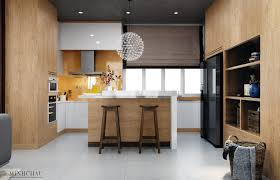 Interior Design Of Kitchen Room by Color Combo Inspiration Wood Interiors With Grey Accents