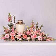 memorial flowers cedar memorial flower shop s favorite flowers urn arrangement