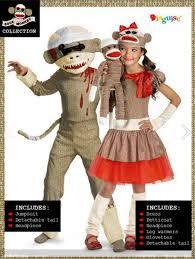 sock monkey costume disguise launches sock monkey costumes