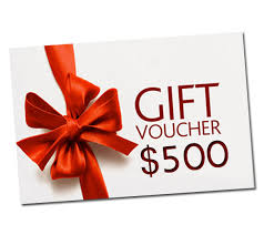 500 gift card 500 gift voucher redcili