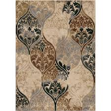 Ikat Area Rug Orian Rugs Classic Ikat Multi Soft 5 Ft 3 In X 7 Ft 6 In