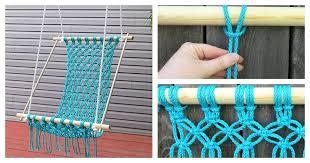 how to make a hammock chair how to make a beautiful macrame