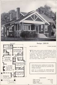 antique home plans bungalow floor plans craftsman house small early 1900s vintage