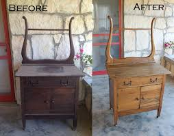 Changing Table With Sink The Recycled Homestead Refinishing Antique Wood Furniture A