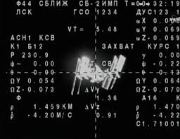 live coverage veteran three man crew docks with space station