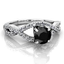 onyx engagement rings black onyx diamond twist ring r26405rd wonyx