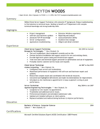 It Resumes Samples Government Job Resumes Example Image For First Job Resume No Image