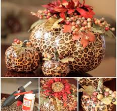 leopard print tissue paper leopard print pumpkin tutorial supplies artificial pumpkins