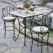 Black Rod Iron Patio Furniture Wrought Iron Outdoor Tables Gccourt House