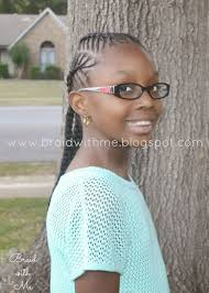 natural hairstyle for kids fish bone cornrows twist hairstyles