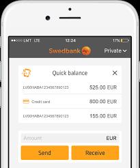 mobile application swedbank