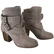 target womens boots grey s genuine suede strappy from target shoes