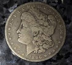 us silver coin morgan silver dollar 1896o lady liberty antique