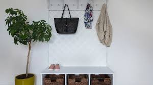 how to make a lattice coat rack for your entryway home