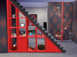 shinokcr u0027s under stair shelves and deco spiralstair