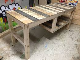 tables made out of pallets top 62 supreme tables made from pallets bench pallet furniture desk
