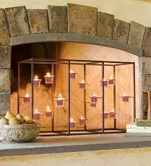 fireplace candle holders fireplace fireplace