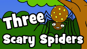 three scary spiders halloween songs for kids youtube