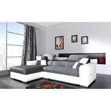 canap convertible blanc et gris nouveau canapé convertible gris et blanc idées de décoration