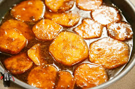candied yams thanksgiving special dinner with tayo