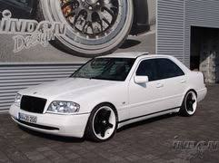 mercedes c class coupe tuning mercedes c class w 202 tuning bilder by inden design
