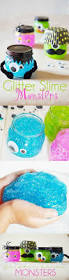 halloween glitter slime monsters slime recipe halloween parties