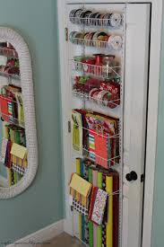 Gift Wrap Storage Containers O Is For Organize An Organized Gift Wrap Station
