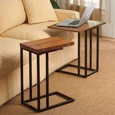 under couch laptop table work tables on wheels slide under couch laptop table computer