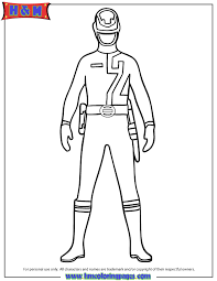 Coloring Pages Of Power Rangers Spd | power rangers spd coloring pages getcoloringpages com