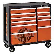 Cabinet Tools Craftsman Harley Davidson 40 In 11 Drawer Rolling Cabinet Shop