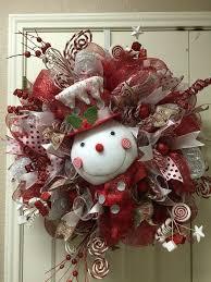 christmas wreaths to make 30 of the best diy christmas wreath ideas snowman wreath