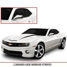 2010 camaro stripes camaro side mirrors blackouts alphavinyl